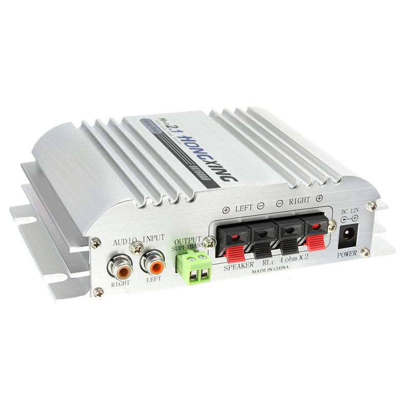Mạch Âm Ly 12V Công Suất Lớn Hx268 500W+500W Fm/ usb