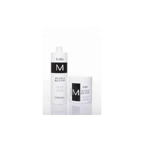 Dầu hấp dưỡng ẩm phục hồi hương sữa gạo Milky Action Mask 1000ML