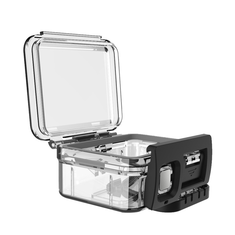 Vỏ Chống Nước GoPro 8 Telesin - Case Bảo Vệ Máy Quay Phim GoPro Hero 8 Black (Hàng chính hãng)