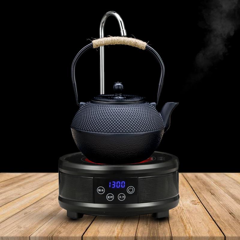 Ấm Tetsubin và bếp Hồng ngoại hút nước tự động