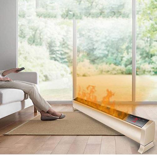 Máy sưởi, quạt sưởi gia đình sưởi ấm sàn nhà di động T1500