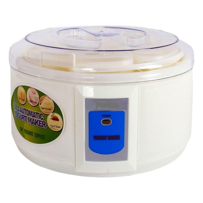 Máy làm sữa chua 6 cốc mẫu mới siêu bền tặng kèm tách lòng đỏ trứng gà