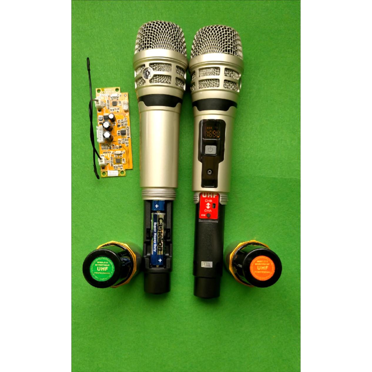 Bộ mic dùng cho loa kéo M-02