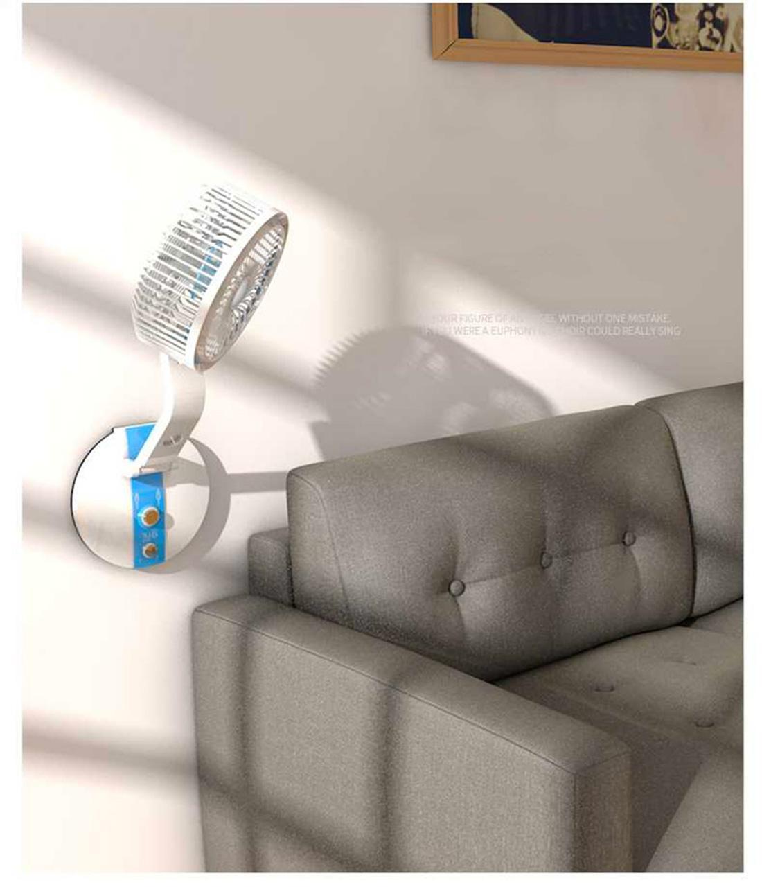 Quạt mini, Quạt để bàn, Quạt gấp có đèn LED nhỏ gọn tiện dụng, có thể mang đi mọi nơi, cho những ngày hè oi bức