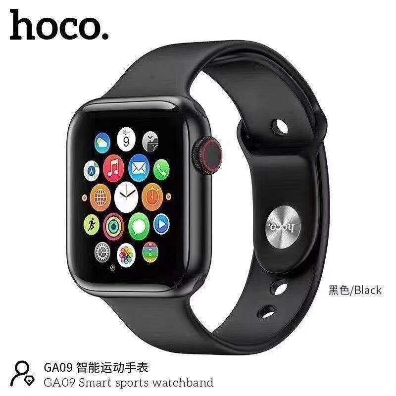 Đồng Hồ Thông Minh Hoco GA09 Plus + Bluetooth, Chống nước, hỗ trợ nghe gọi, theo dõi sức khỏe - Hàng chính hãng