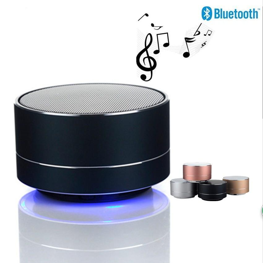 Loa Bluetooth A10 Mini Vỏ Nhôm Di Động Hỗ Trợ Thẻ Nhớ USB AUX (giao màu nẫu nhiên)