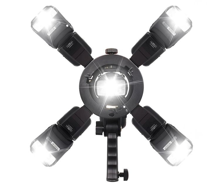 Gá Dù S Type 5 Đèn Có Tay Cầm - Hàng Nhập Khẩu