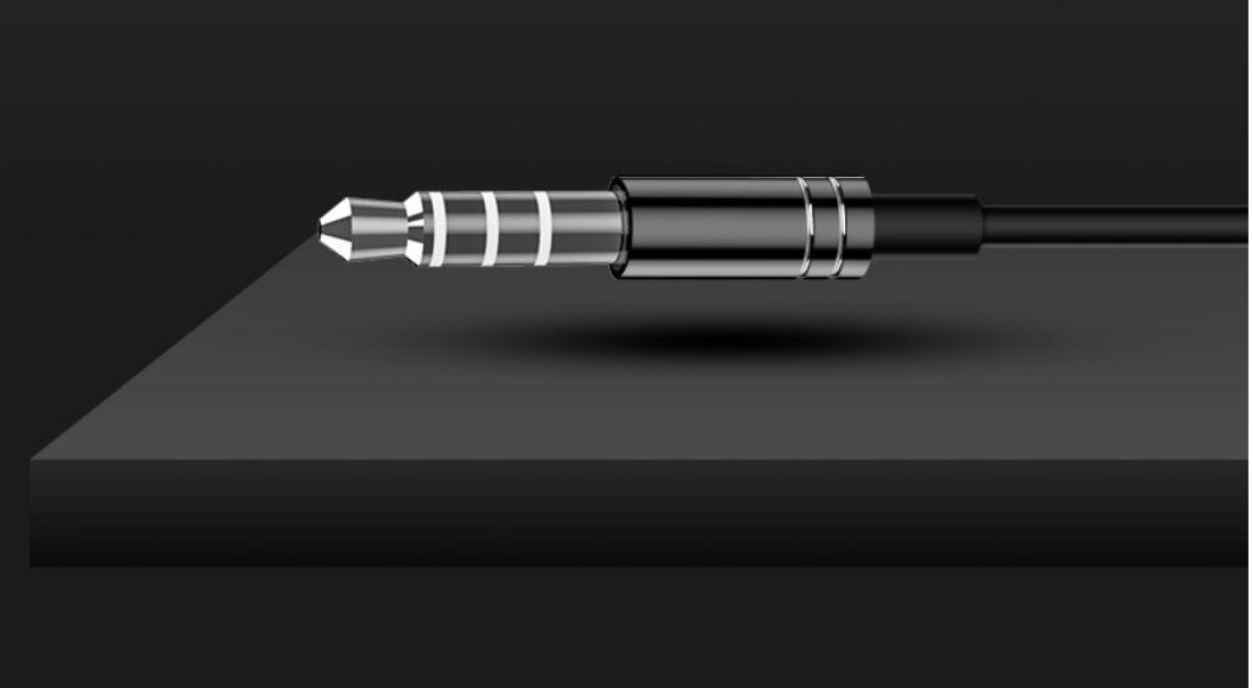 Tai nghe có dây nhét tai KS01 âm thanh HIFI 6D - hàng chính hãng