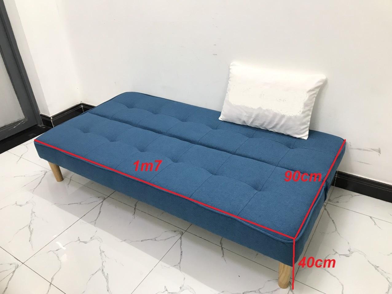 Ghế sofa giường 1m7x90, sofa phòng khách sivali11 sopha, sa lông, sô pha