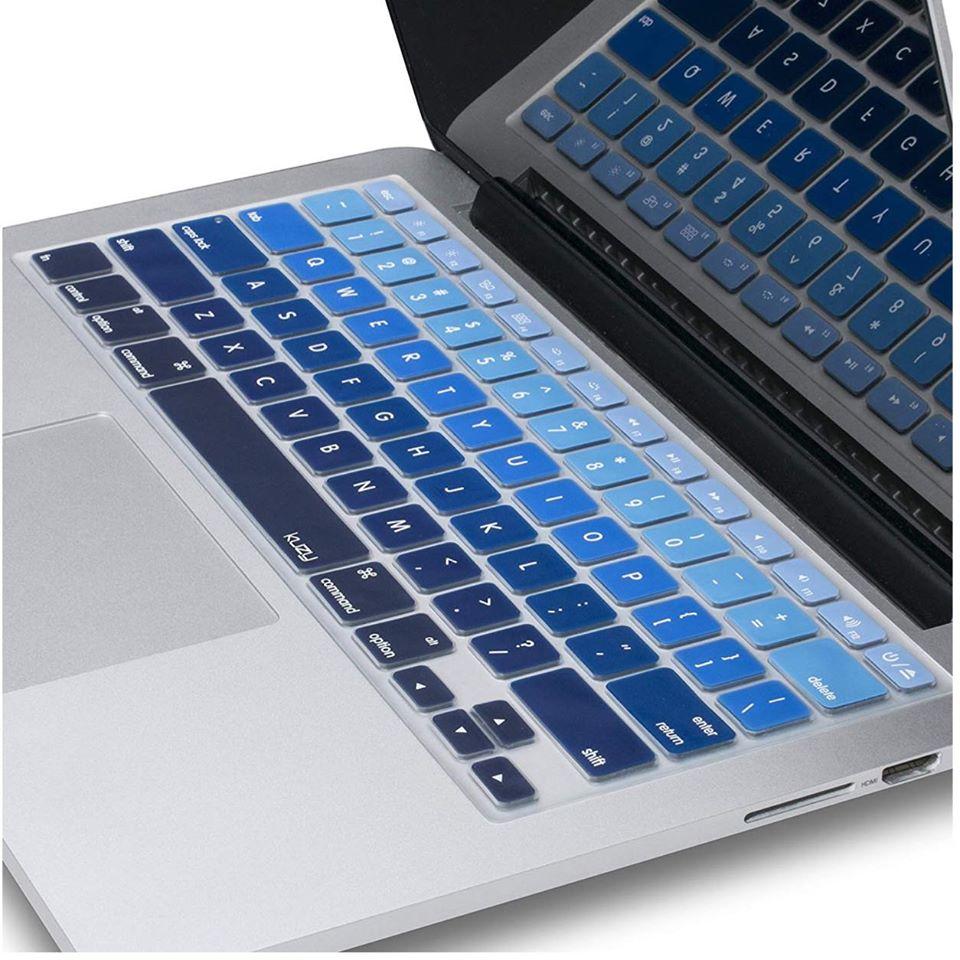 Phủ Phím cho Macbook cao cấp màu Gradient Blue