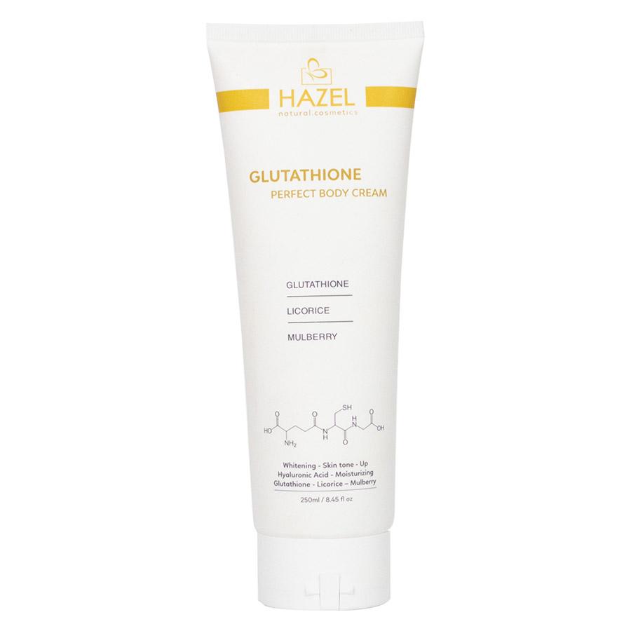 [Combo Tắm Trắng - Dưỡng Trắng Thải Độc Than Hoạt Tính Hazel] Bio Detox 250mL Carbon và Glutathione Perfect Body Cream 250mL
