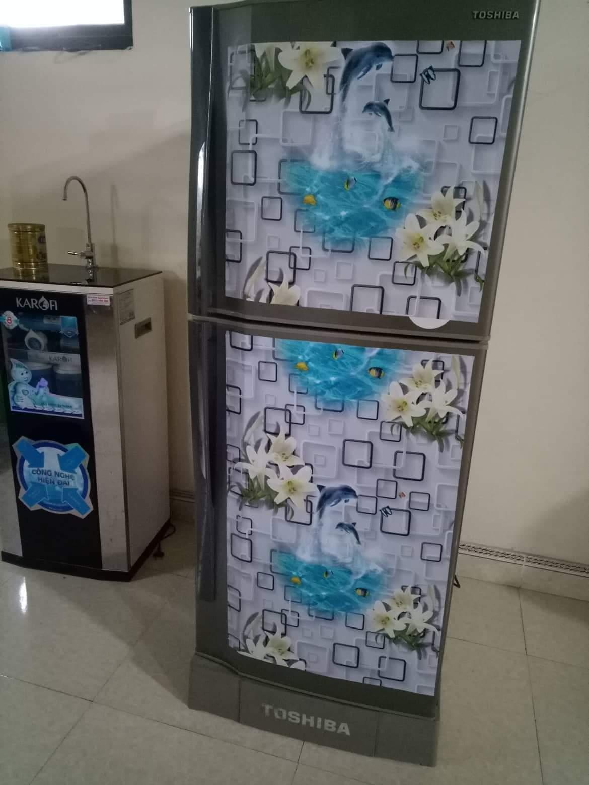 Combo 10M decal giấy dán tường Ô Vuông Cá Heo (10mx0.45m) - decalsusu