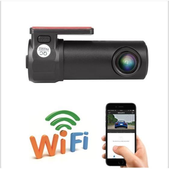 Camera hành trình mini wifi xoay 360 độ - tích hợp điều khiển trên điện thoại - Home and Garden
