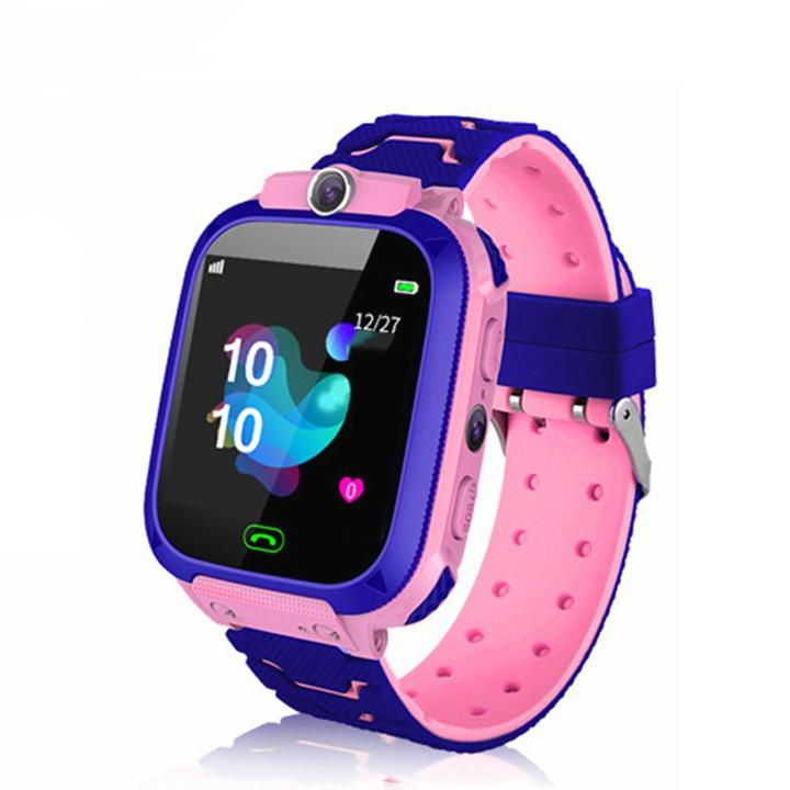 Đồng hồ định vị thông minh cho bé cao cấp Q12 kết hợp nghe gọi cảm ứng chống thấm nước BBShine – DH017
