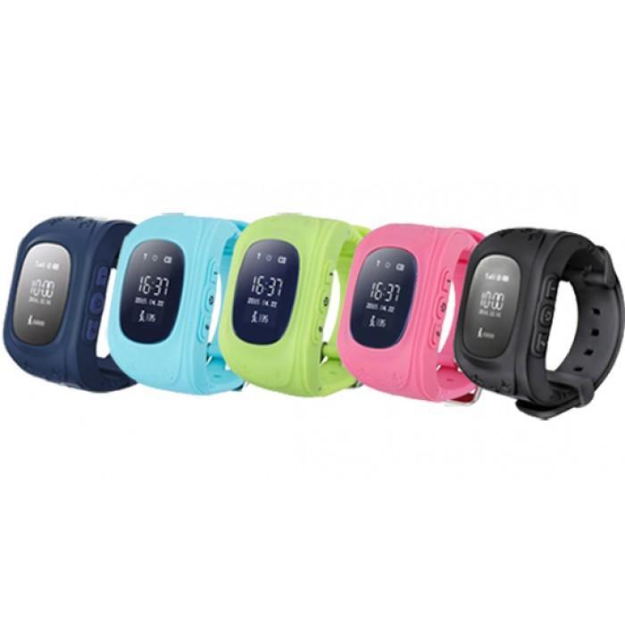 Đồng hồ điện thoại định vị trẻ em Q50 xanh nước biển