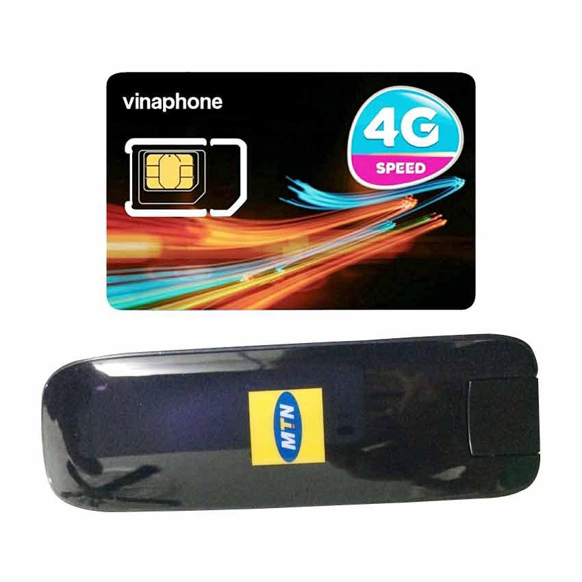 USB 3G Huawei E367 Tốc Độ 28.8Mpbs + Sim 4G Viaphone trọn Gói 12 Tháng | 5.5GB/Tháng - Hàng Nhập Khẩu