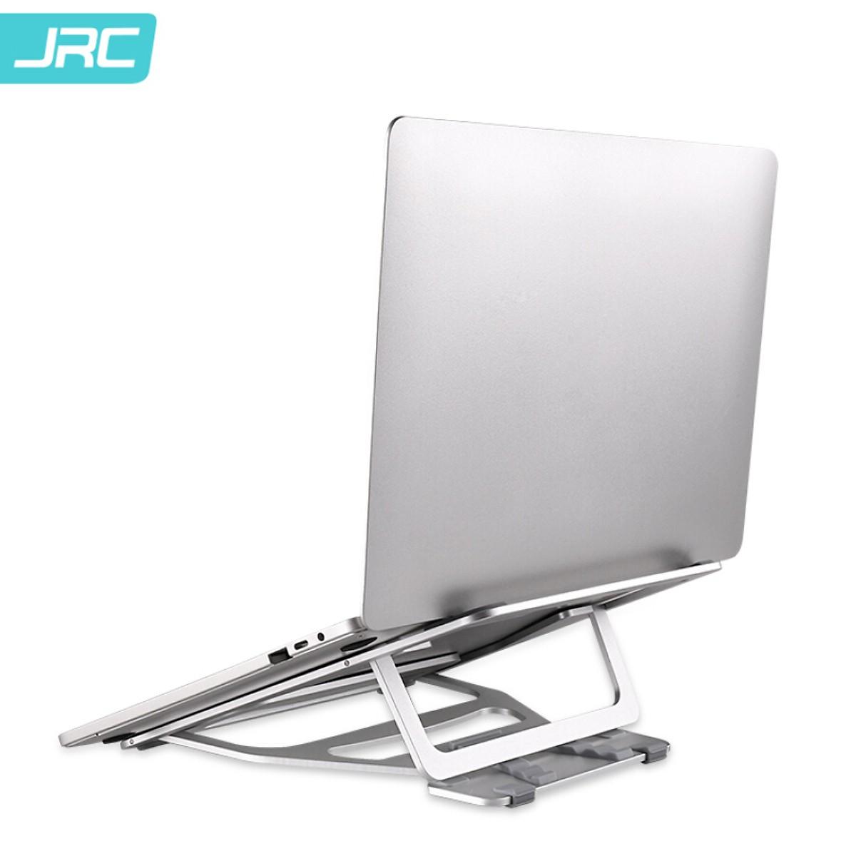 Giá đỡ nhôm cao cấp hỗ trợ tản nhiệt cho Laptop/Macbook, có thể điều chỉnh độ cao tùy ý - Hàng nhập khẩu