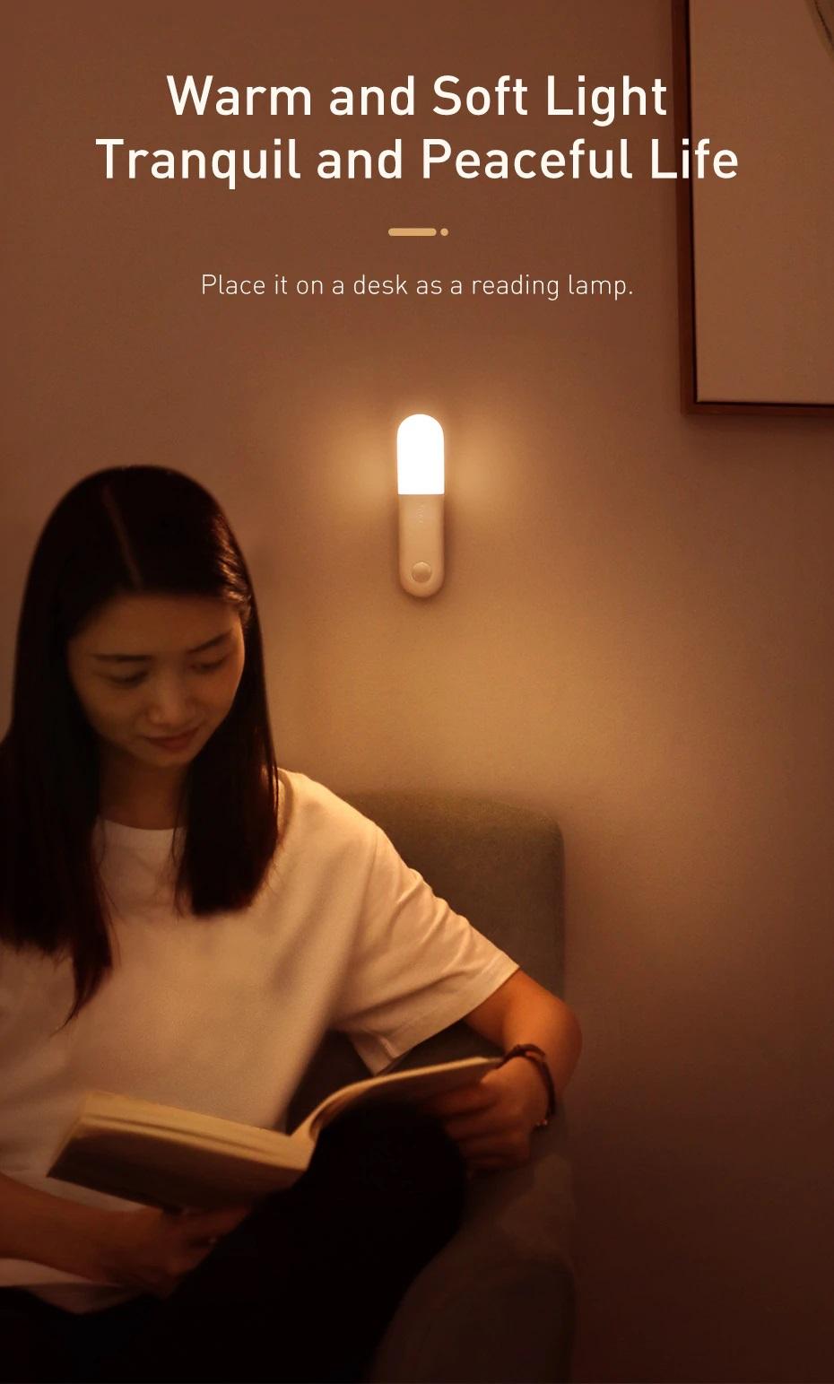 Đèn cảm ứng Baseus DGSUN-GA02 / DGSUN-GB02 - Hàng chính hãng