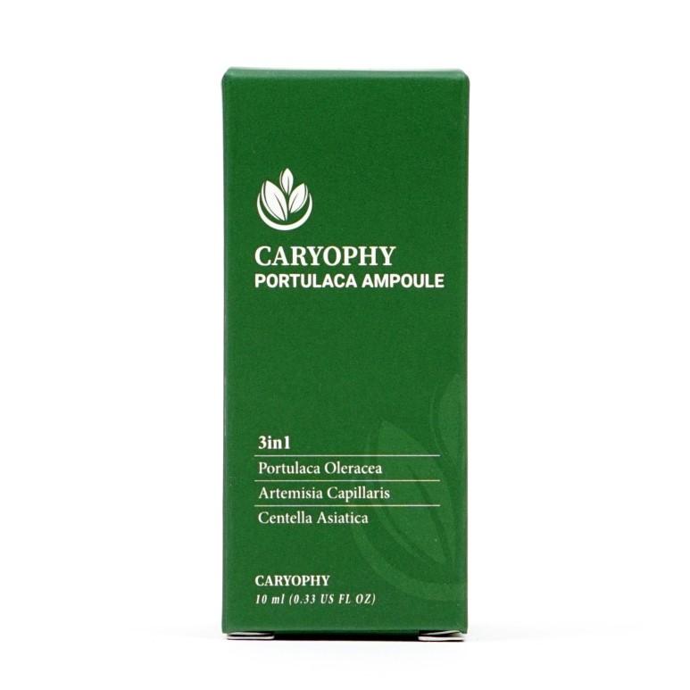 Tinh chất giảm và ngăn ngừa mụn 3 trong 1 Caryophy Portucala Ampoule 10ml
