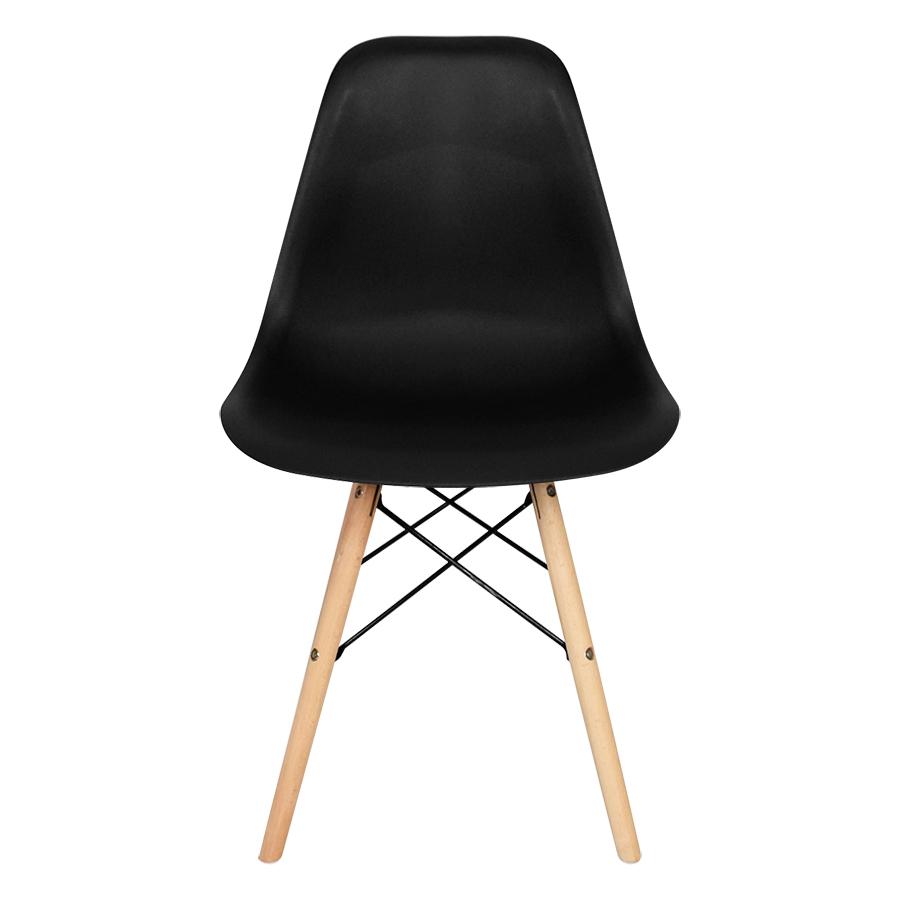 Ghế bàn ăn Eames chân gỗ