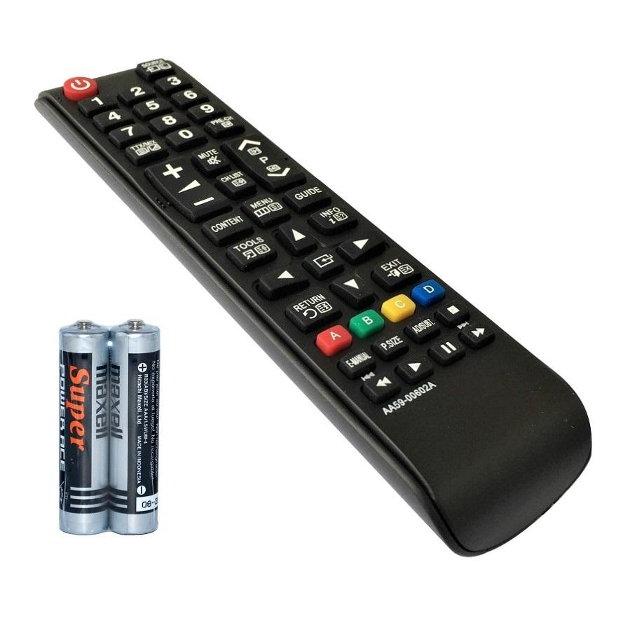 Remote Điều Khiển Dành Cho TV LCD, TV LED SAMSUNG AA59-00602A (Kèm Pin AAA Maxell)