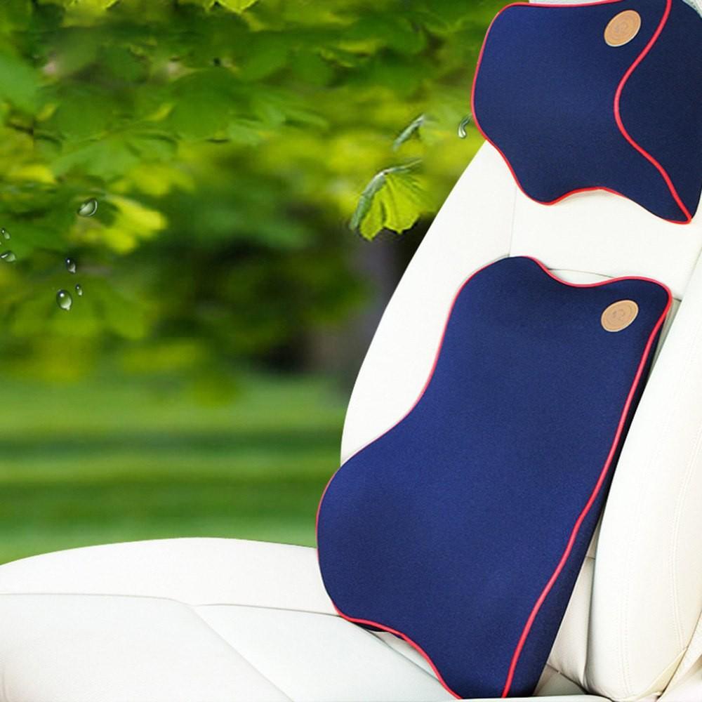 Gối tựa lưng cao su non nguyên khối cao cấp giảm đau lưng khi ngồi lâu