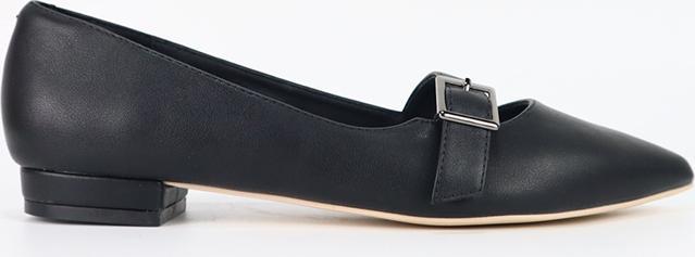 Giày Búp Bê Phối Khóa Đế Cillie 1040 (2cm)