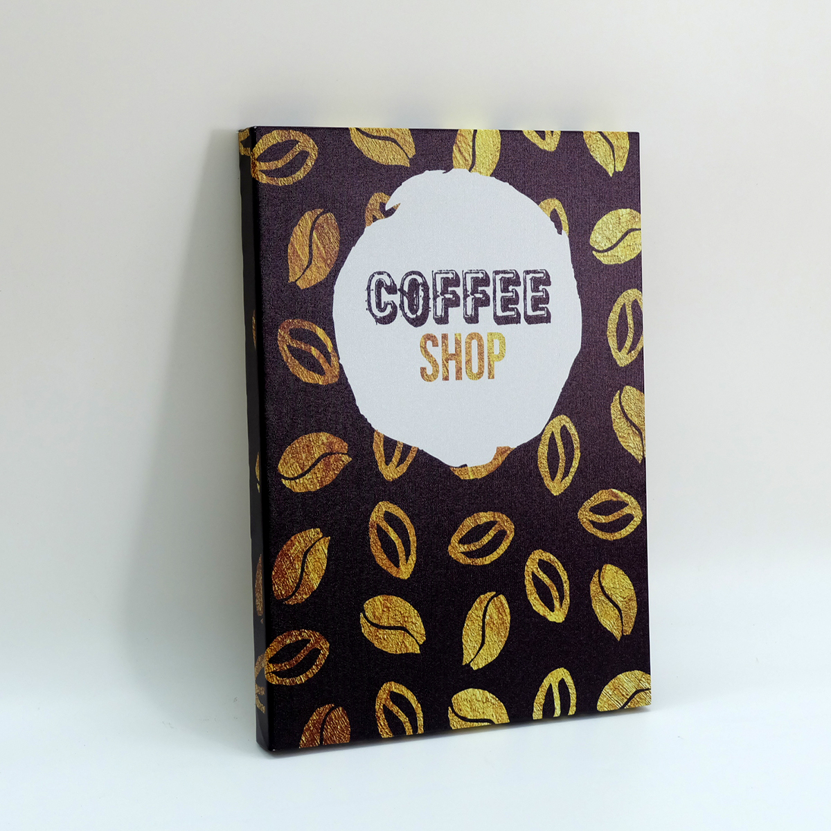 Tranh slogan canvas tạo động lực [trang trí quán cafe] DCC025C Coffee Shop  Cocopic