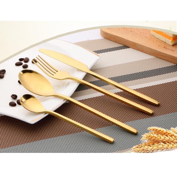 Dao muỗng nĩa phòng ăn inox 304 nguyên khối CSA0005