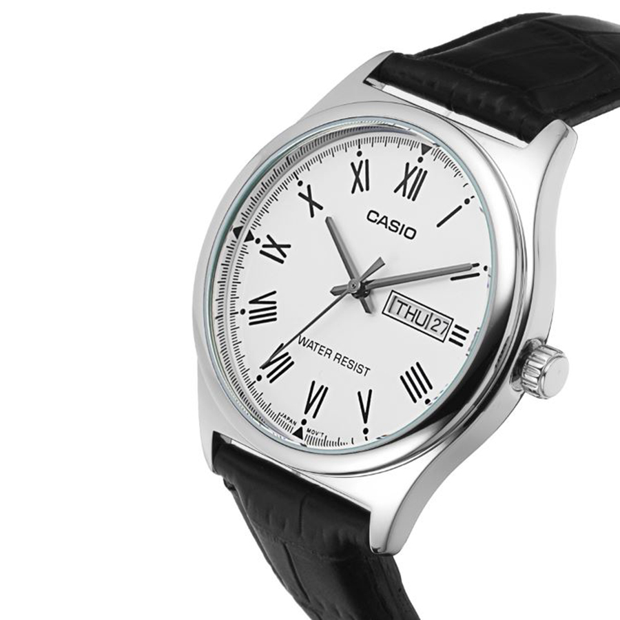 Đồng hồ nam dây da Casio MTP-V006L-7BUDF