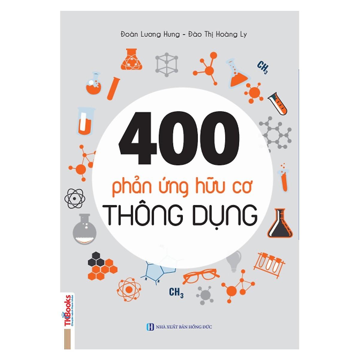 Combo Hành trình từ 0 đến 9+ môn Hóa Học phần hữu cơ + 400 phản ứng hữu cơ (tặng kèm bookmark PS)