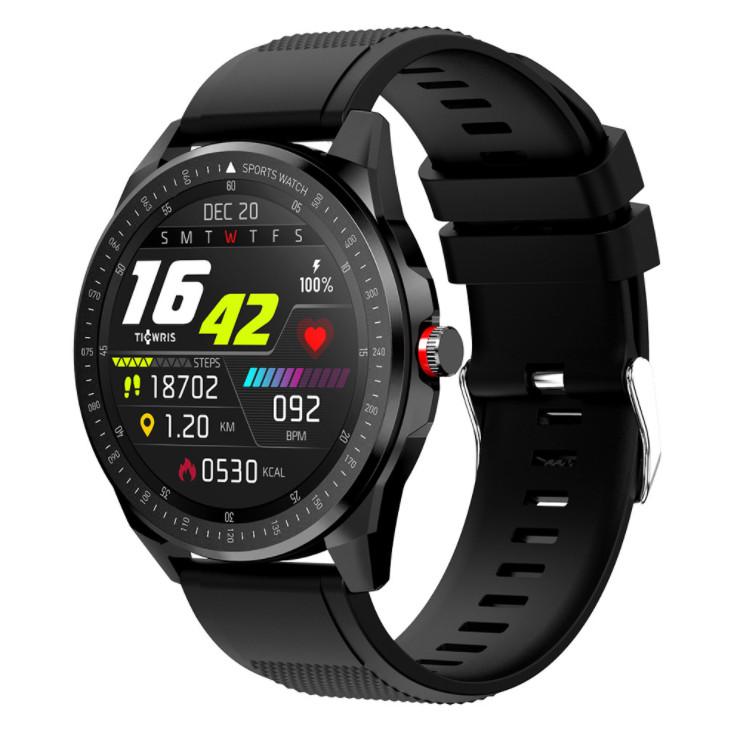 Đồng hồ thông minh chống nước Giormani RS Bluetooth Pin chờ 50 ngày APP nhịp tim ios android