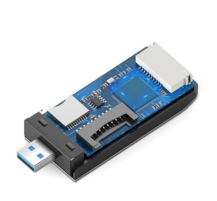 USB 3.0 đọc thẻ hỗ trợ SD/TF/CF/MS Ugreen 50541 cao cấp