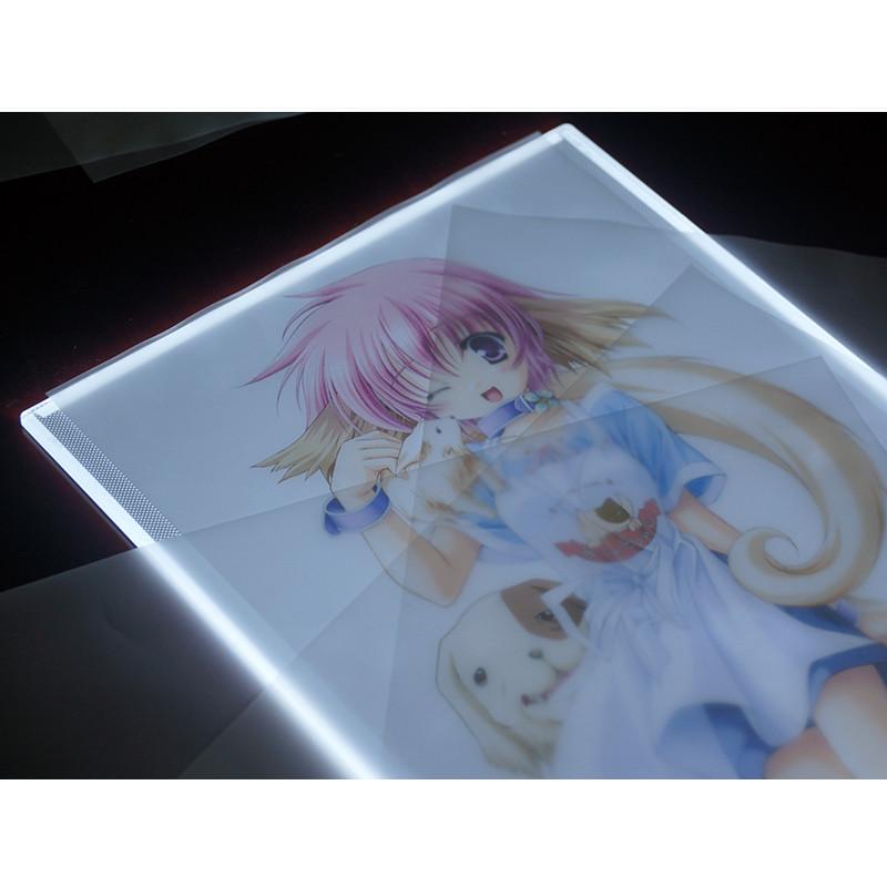 Bảng Vẽ Hắt Đèn BUDECOR LED A4 chuyên nghiệp