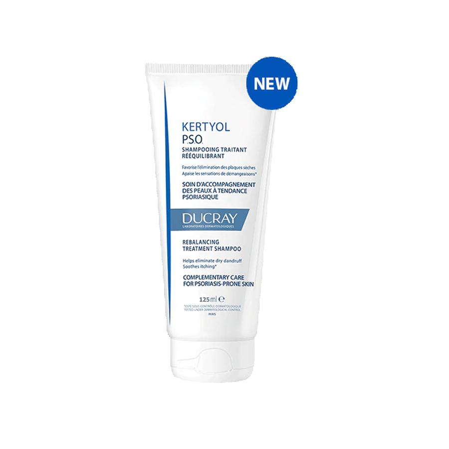 Dầu Gội Ducray Kertyol Pso Reblancing Treatment Shampoo Cho Da Đầu Bị Gàu, Vảy Nến (125ml)