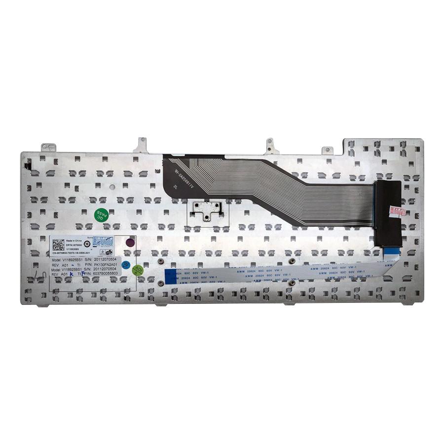 Bàn Phím Dành Cho Laptop Dell Latitude E6220, E6230, E6320, E6330, E6420, E6430, E6440, E5420, E5430  - Hàng Nhập Khẩu
