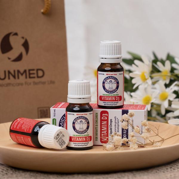 [CHÍNH HÃNG] Vitamin D3 BioAmicus 400IU/giọt
