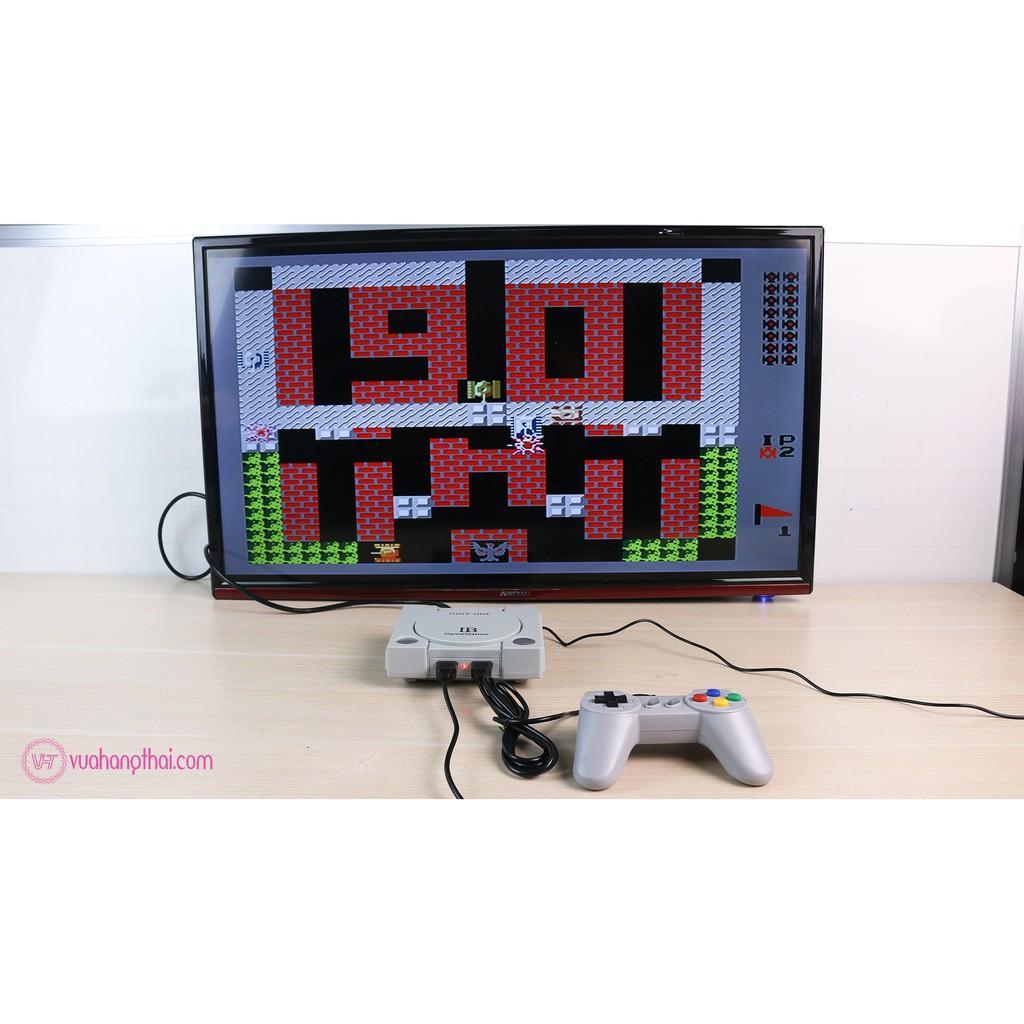 Máy Chơi Game Điện Tử 4 Nút 648 Trò 2 Tay Cầm Game psp 2 Người Chơi Có Game  16 Bit Kết Nối Tivi 4K Cổng Kết Nối HDMI - Video games Thương hiệu OEM