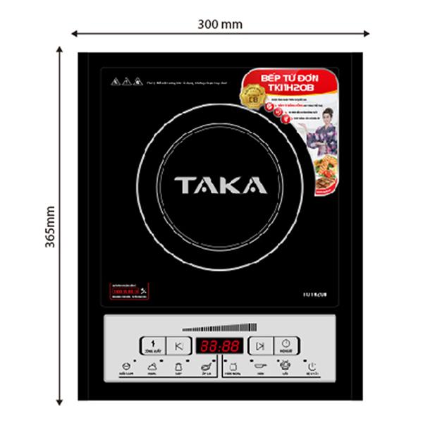 Bếp Từ Đơn Taka TKI1H20B (2000W) - Kèm Nồi Lẩu - Hàng chính hãng