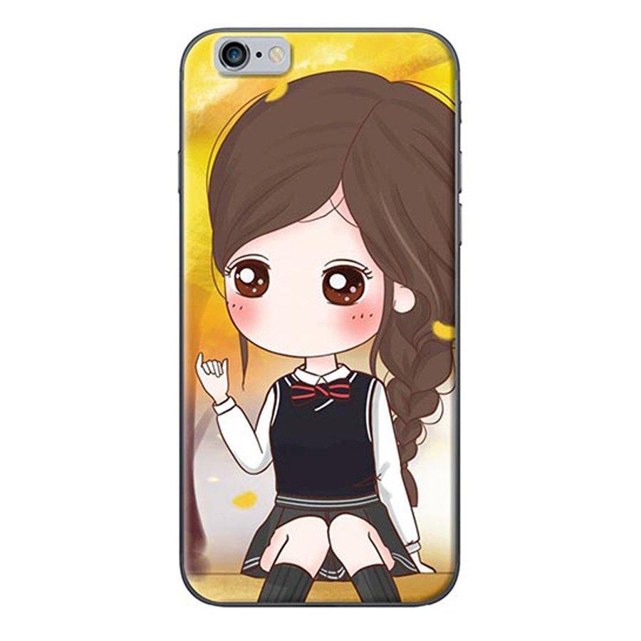 Ốp Lưng Dành Cho iPhone 6 Plus6s Plus - Nữ Sinh