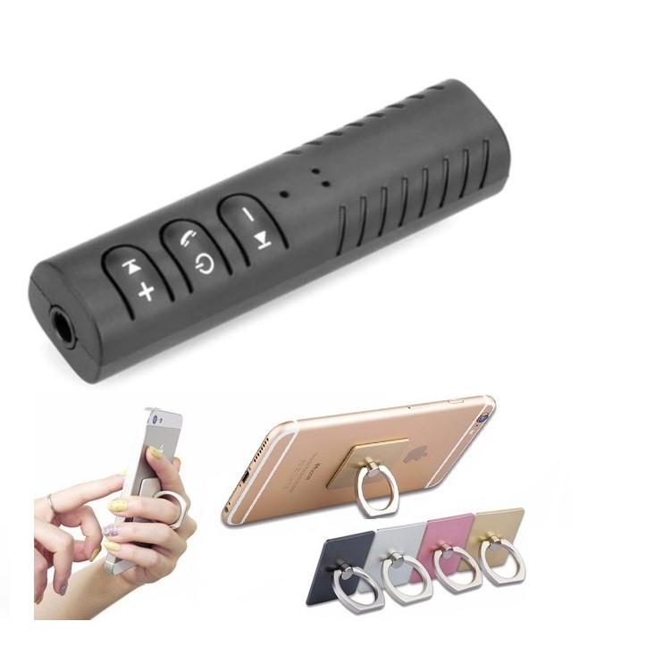 Thiết bị tạo bluetooth biến loa thường, tai nghe thường thành bluetooth Car Bluetooth Music Receiver + Tặng giá đỡ điện thoại