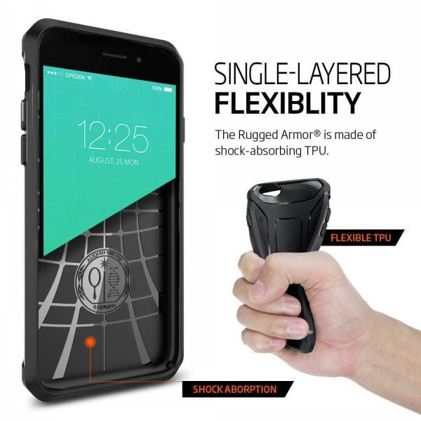 Ốp lưng iphone 6S/6 Spigen (SGP) Rugged Capsule 3