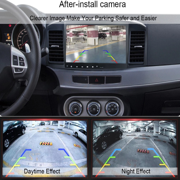 Camera lùi hồng ngoại hỗ trợ nhìn ban đêm kết nối 5 chân, chống nước, dài 5.5m Độ phân giải video 1080P