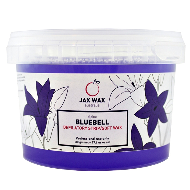 Sáp tẩy lông ấm dạng hũ Alpine Bluebell 500g