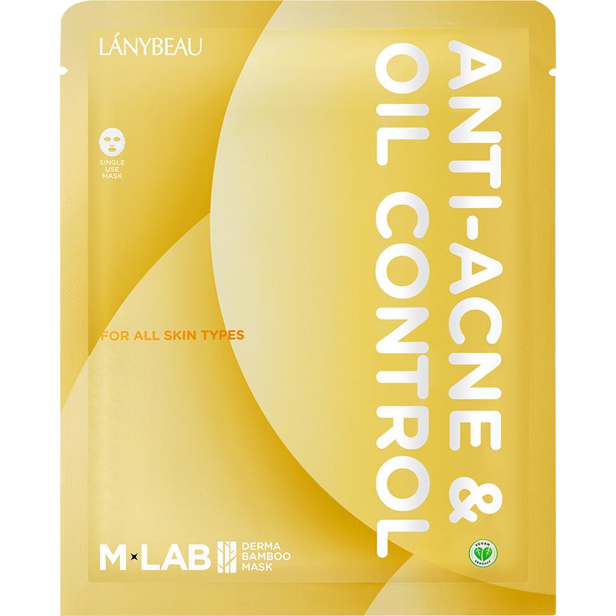 Hộp 7 Mặt Nạ Sợi Tre Ngăn Ngừa Mụn & Kiểm Soát Dầu M-LAB ANTI-ACNE & OIL CONTROL (30ml/ Miếng)