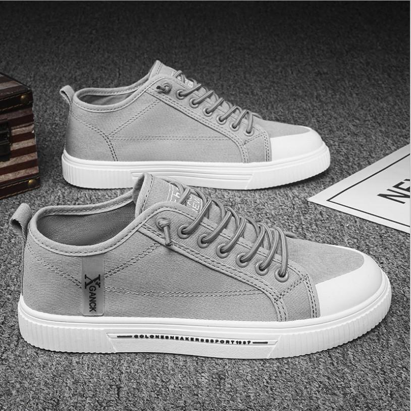 Giày nam, giày thể thao Sneaker nam vải bò phong cách trẻ trung mẫu HOT QA - 404