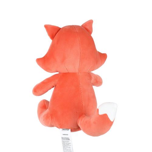 Thú bông Miniso hình con cáo ngồi 31cm - Hàng chính hãng