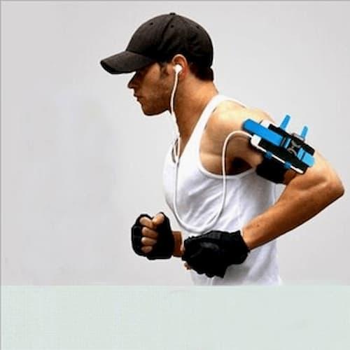 Dây đai đeo điện thoại buộc tay khi chạy bộ