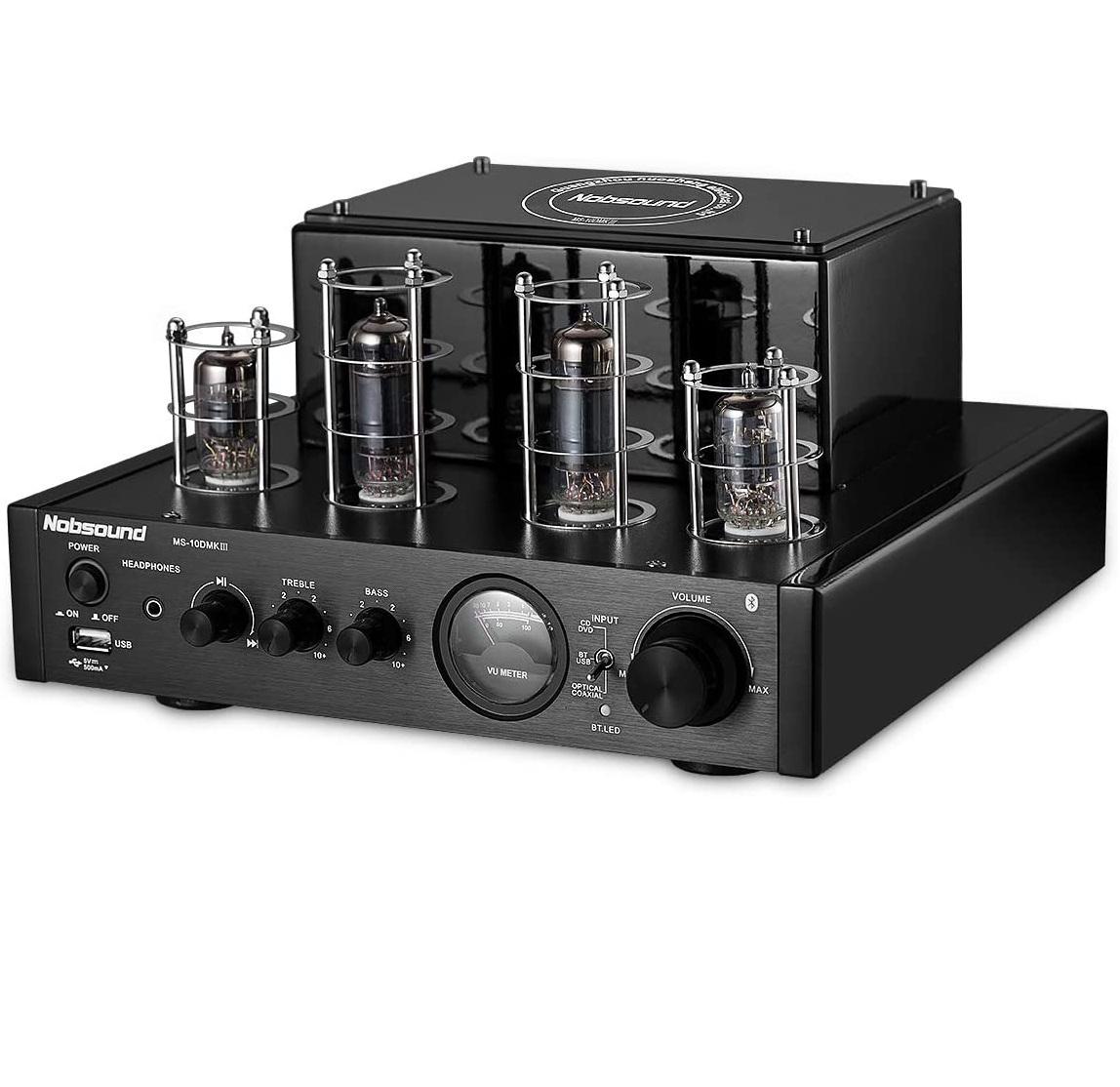 Bộ Amplifier Đèn Mini Bluetooth Nobsound MS-10DMKIII Cao Cấp - Hàng Chính Hãng