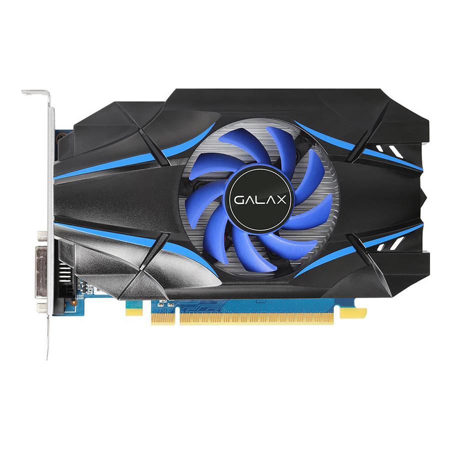 Card Màn Hình VGA Galax GeForce GT 1030 2GB 30NPK4HVQ4BG SDDR4 64bit 1 Fan HDMI - Hàng Chính Hãng